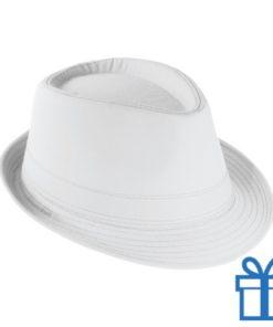 Fashion hoed wit bedrukken