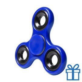 Fidget spinner blauw bedrukken