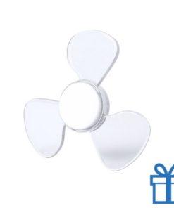 Fidget spinner nieuw model wit transparant bedrukken