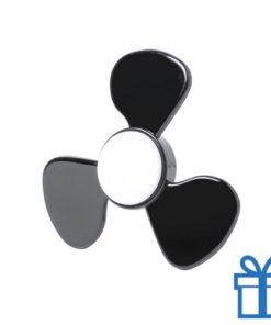 Fidget spinner nieuw model zwart bedrukken