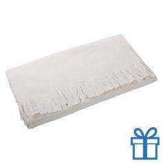 Fleece sjaal naturel bedrukken