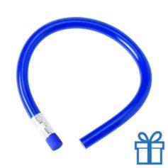 Flexibel potlood gum blauw bedrukken