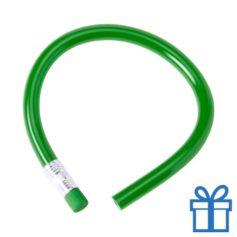 Flexibel potlood gum groen bedrukken