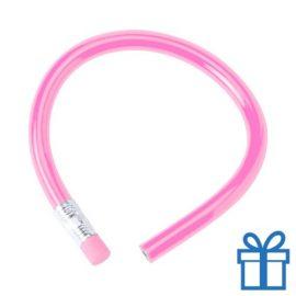 Flexibel potlood gum lichtroze bedrukken