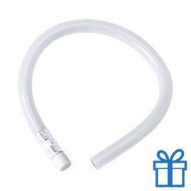 Flexibel potlood gum wit bedrukken