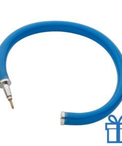 Flexibele balpen blauw bedrukken