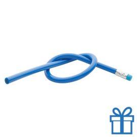 Flexibele potlood blauw bedrukken