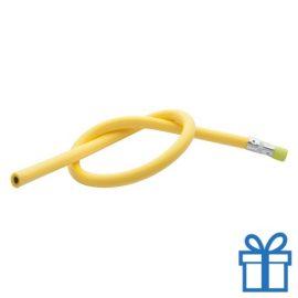 Flexibele potlood geel bedrukken