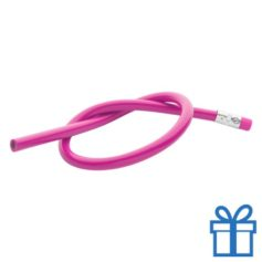 Flexibele potlood roze bedrukken