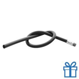 Flexibele potlood zwart bedrukken