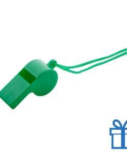 Fluitje groen bedrukken
