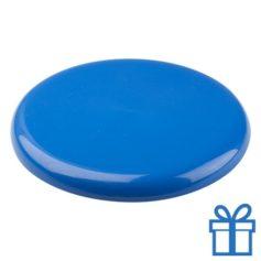 Frisbee beach blauw bedrukken
