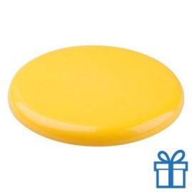 Frisbee beach geel bedrukken