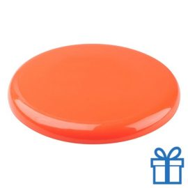 Frisbee beach oranje bedrukken