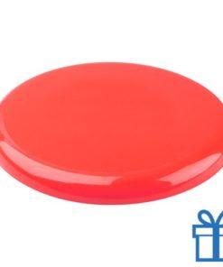 Frisbee beach rood bedrukken
