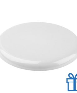 Frisbee beach wit bedrukken