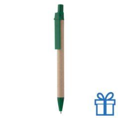 Gerecyclede pen groen