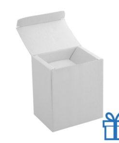 Geschenkverpakking mok wit bedrukken