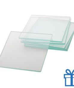 Glazen onderzetters bedrukken
