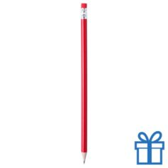 Goedkoop potlood bedrukken rood