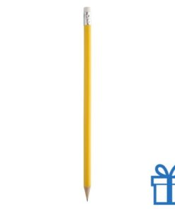 Goedkope houten potlood geel