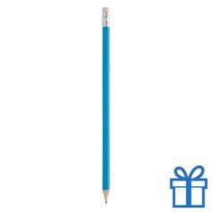 Goedkope houten potlood lichtblauw bedrukken