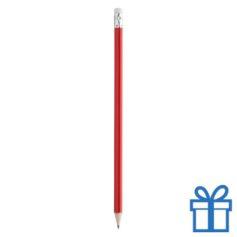 Goedkope houten potlood rood
