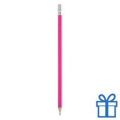 Goedkope houten potlood roze bedrukken