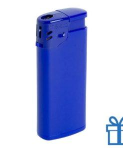 Goedkope plastic aansteker blauw bedrukken