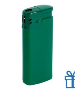 Goedkope plastic aansteker groen bedrukken