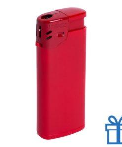 Goedkope plastic aansteker rood bedrukken