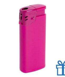 Goedkope plastic aansteker roze bedrukken
