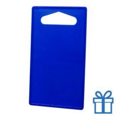 Goedkope plastic snijplank blauw bedrukken