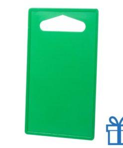 Goedkope plastic snijplank groen bedrukken