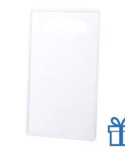 Goedkope plastic snijplank wit bedrukken