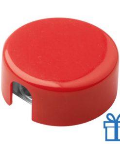 Goedkope puntenslijper basic rood