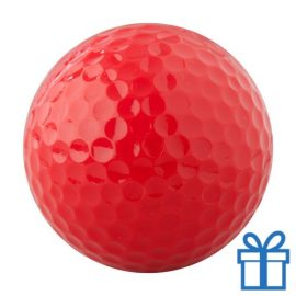 Golfbal rood bedrukken