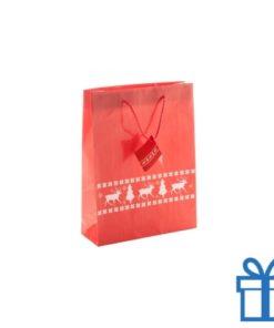 Grote geschenktas rood