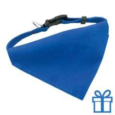 Halsband hond blauw bedrukken