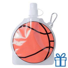 Hervulbaar drinkzakje basketbal bedrukken