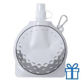 Hervulbaar drinkzakje golf bedrukken