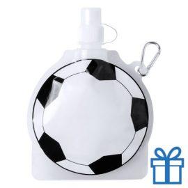 Hervulbaar drinkzakje voetbal bedrukken