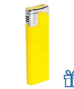 Hervulbare aansteker geel bedrukken