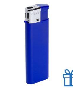 Hervulbare aansteker kinderslot blauw bedrukken