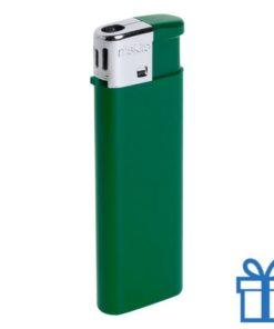 Hervulbare aansteker kinderslot groen bedrukken