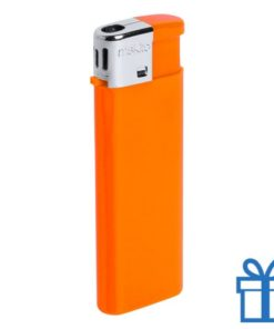 Hervulbare aansteker kinderslot oranje bedrukken