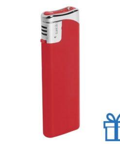 Hervulbare aansteker rood bedrukken