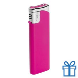 Hervulbare aansteker roze bedrukken