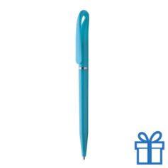 Hervulbare balpen plastic lichtblauw
