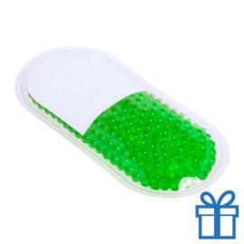 Hot-cold pack gelballen groen bedrukken